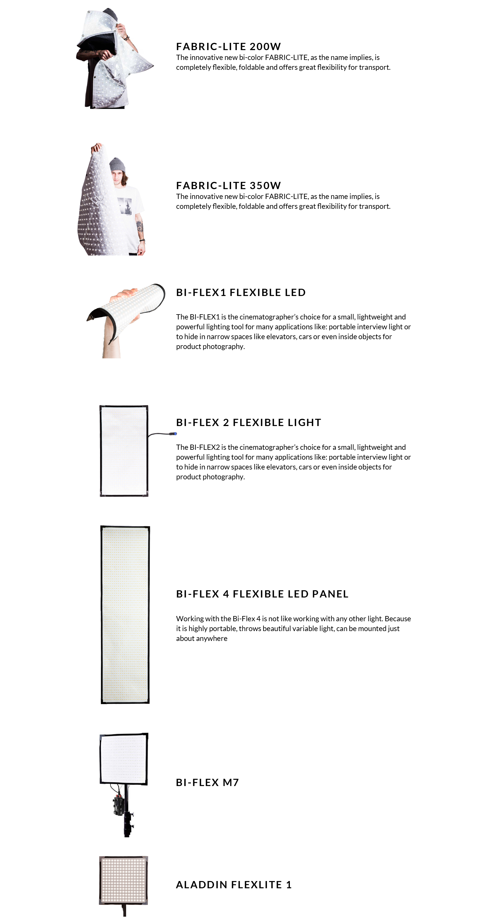 ALADDIN - FLEXIBLE LED SERIES